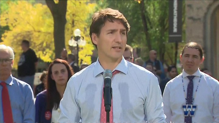 Canada's Justin Trudeau cannot say how often he wore blackface
