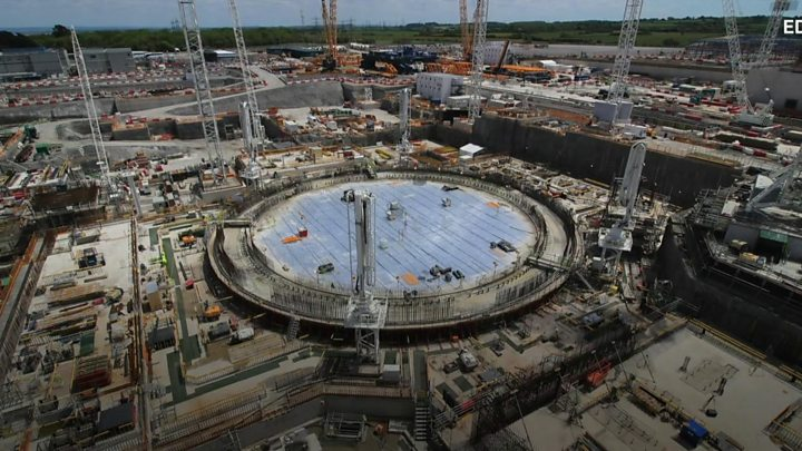 Hinkley Point C nuclear plant to run £2.9bn over budget