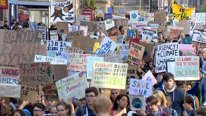 British Schoolchildren Walk Out to Protest Climate Change ...