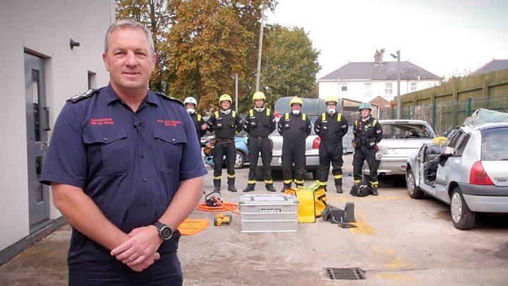 Bridgend fire station celebrates team's fourth global title