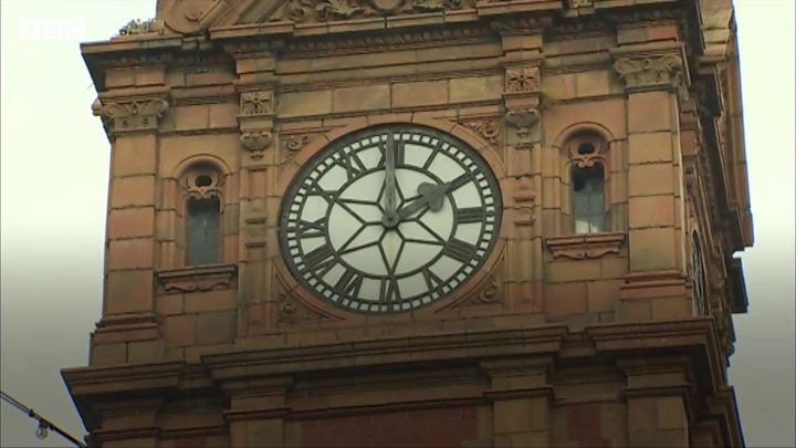 Newtown clock has time called on overnight chimes