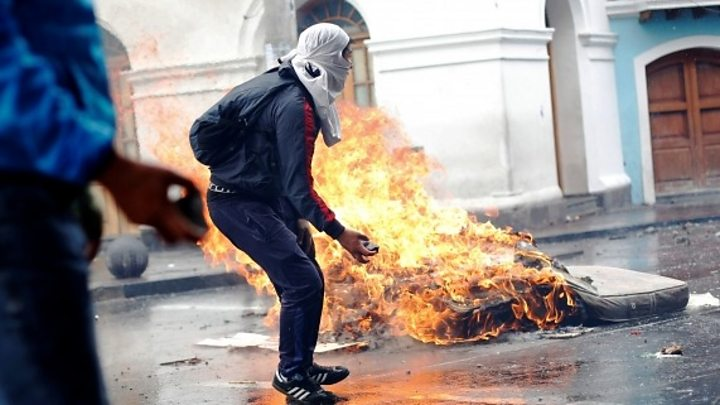 Protests Continue in Ecuador despite State of Exception