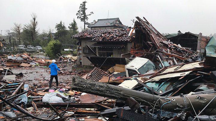 Destruction Caused by Hagibis
