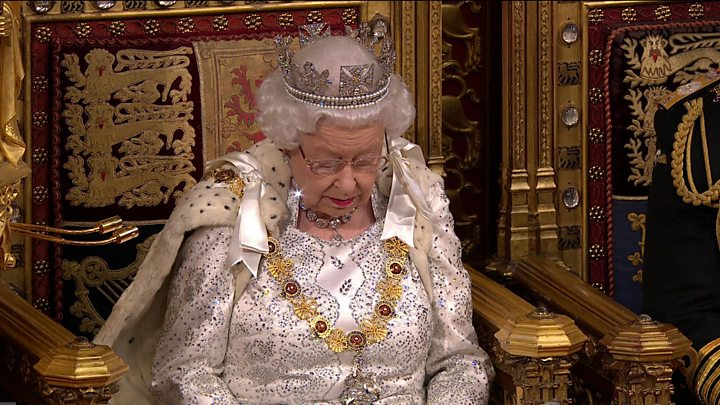 Queen's Speech: New laws on crime, health and the environment