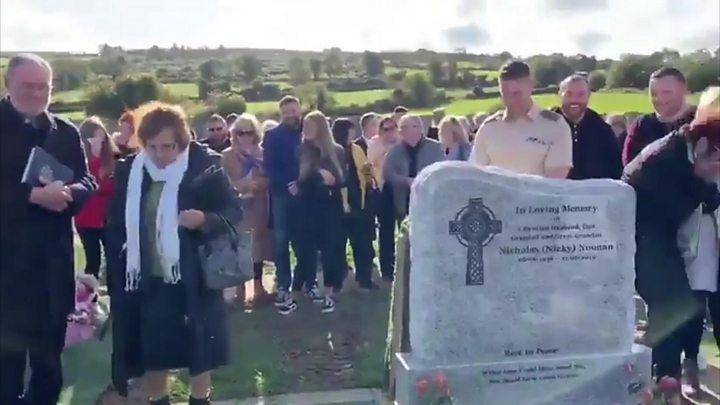 The graveside joke that had everyone laughing at a funeral