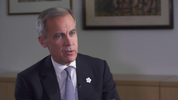 Carney: Brexit deal 'positive' for UK economy