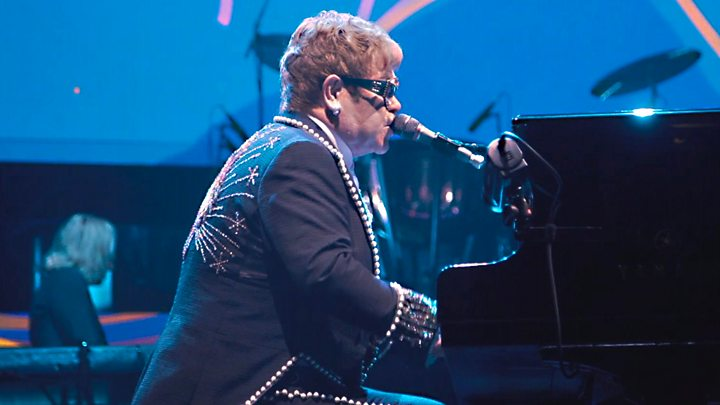 Elton John in tears as he ends concert early due to illness