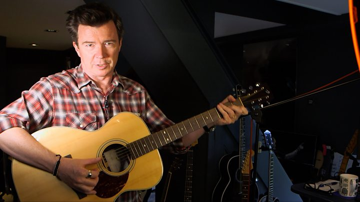 Rick Astley: Inside the home studio where he masterminded his comeback