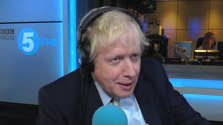 Hasil gambar untuk Boris Johnson asks Trump not to comment on looming British elections