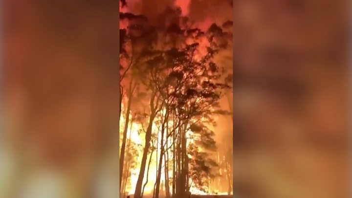 Australia bushfires north of Sydney 'too gigantic to place out' thumbnail
