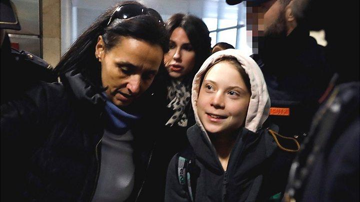 Greta Thunberg: 'They try so desperately to silence us'