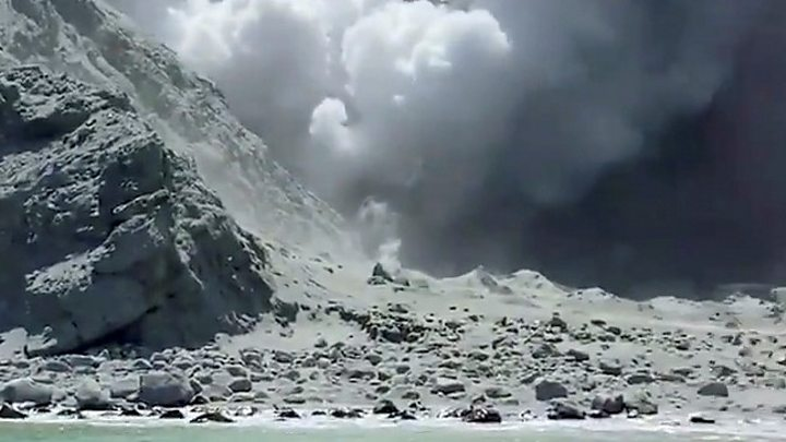 New Zealand volcano: 'No sign of life' after White Island eruption