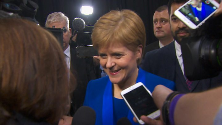 Scotland election results 2019: Sturgeon says SNP victory 'mandate for indyref2'