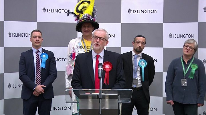 Jeremy Corbyn: 'I will not lead Labour at next election'
