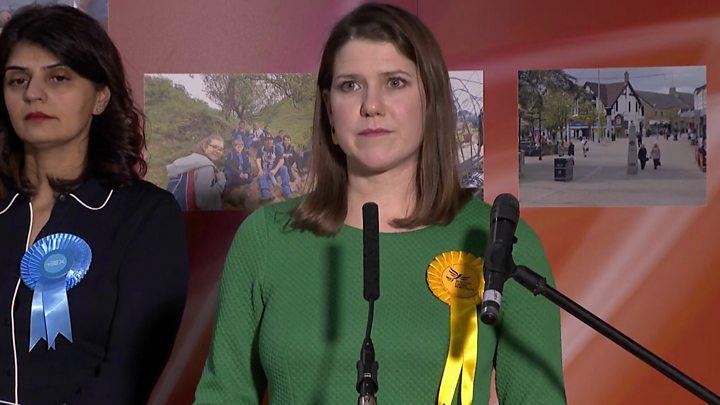 Election results 2019: Lib Dem leader Jo Swinson to step down