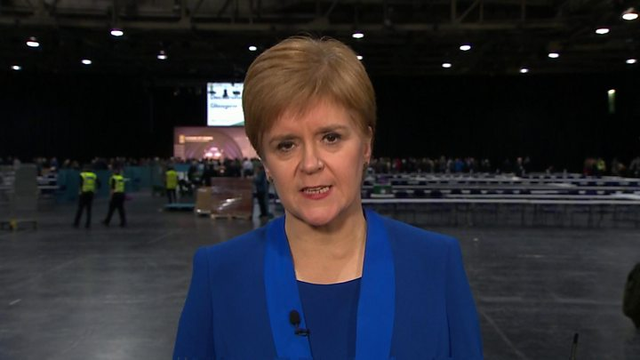 Scotland election outcomes 2019: Sturgeon says SNP landslide 'mandate for indyref2' thumbnail