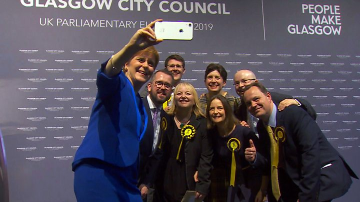 Scotland election results 2019: Sturgeon says PM has 'no right' to block Indyref2