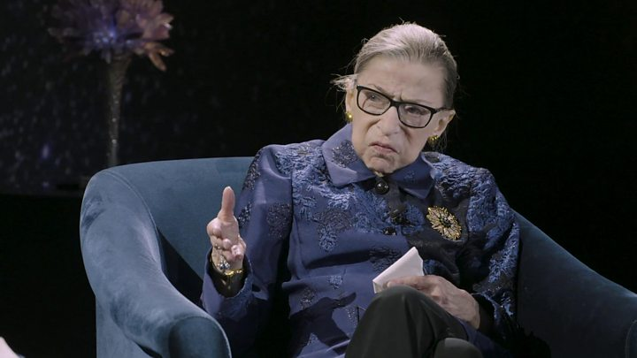 Ruth Bader Ginsburg Keeps Busy Public Schedule After Illness