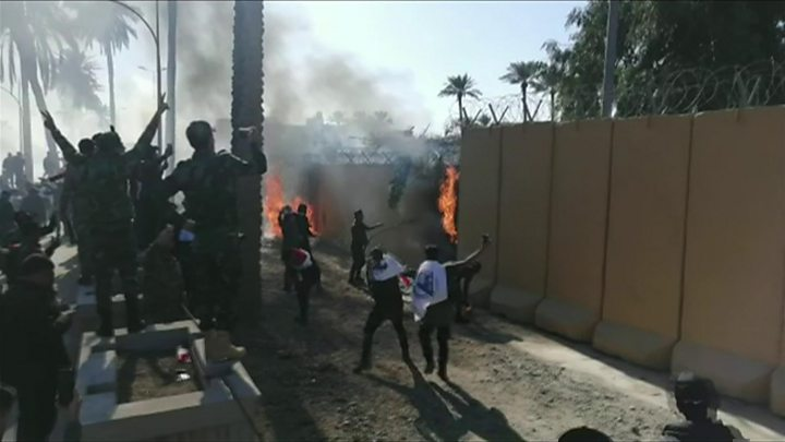 Image result for iran protest attack