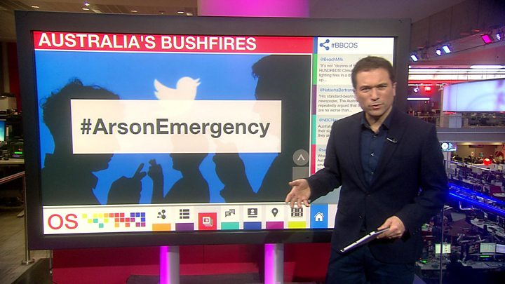 Australia fires: Murdoch's son criticises News Corp coverage thumbnail