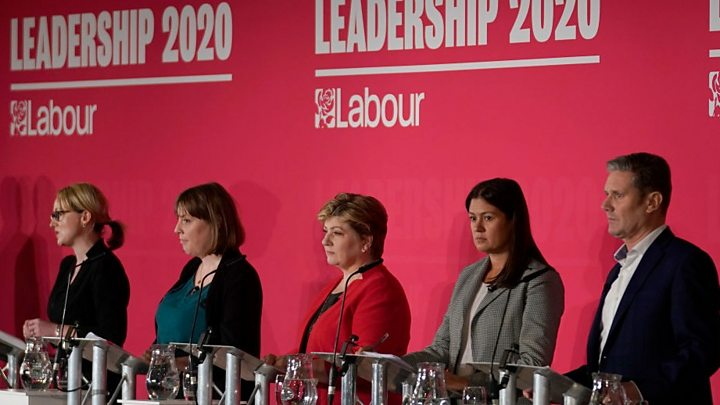 Labour leadership: Candidates call for end to party splits