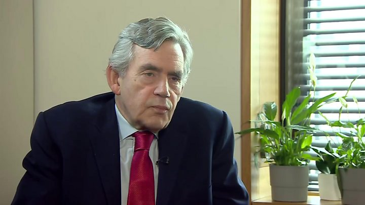 Gordon Brown: Give regions a 'voice' or UK may end, ex-PM warns