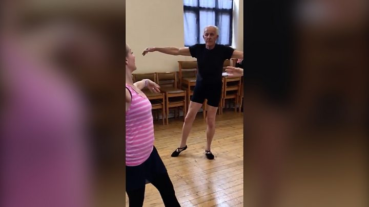 Sittingbourne widower learns ballet and passes exam thumbnail