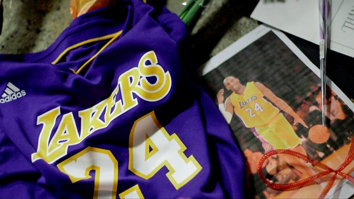 Petition Calls For Kobe Bryant To Be Added To Nba Logo Bbc News