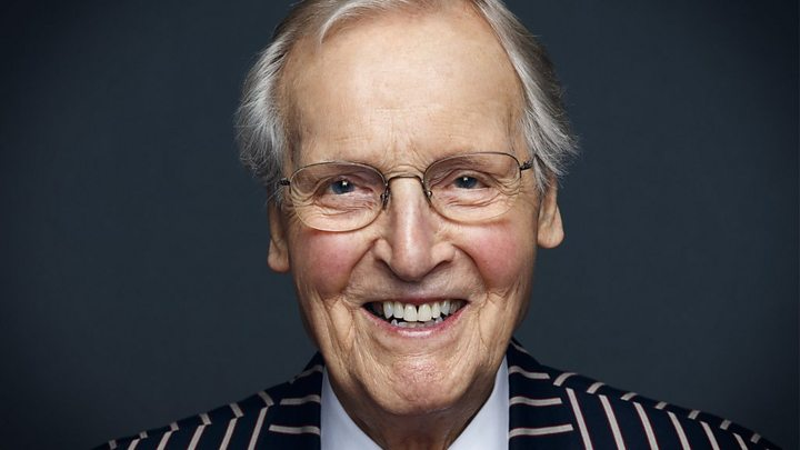 Nicholas Parsons: 'Broadcasting story' dies at 96 after quick sickness thumbnail