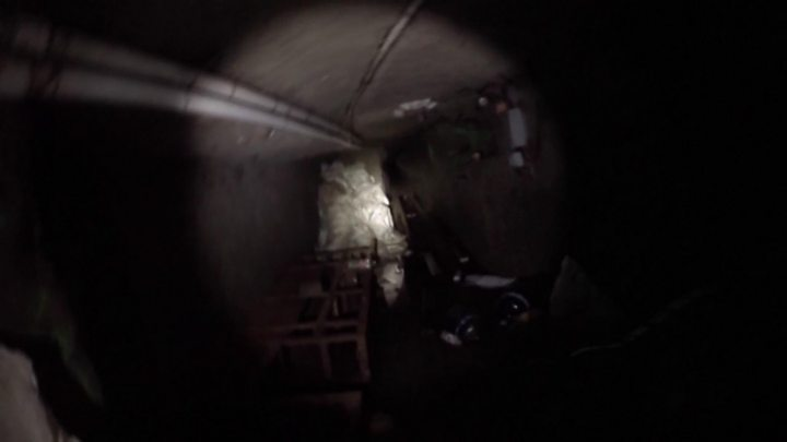 Mexico border: 'Longest ever' smuggling tunnel discovered