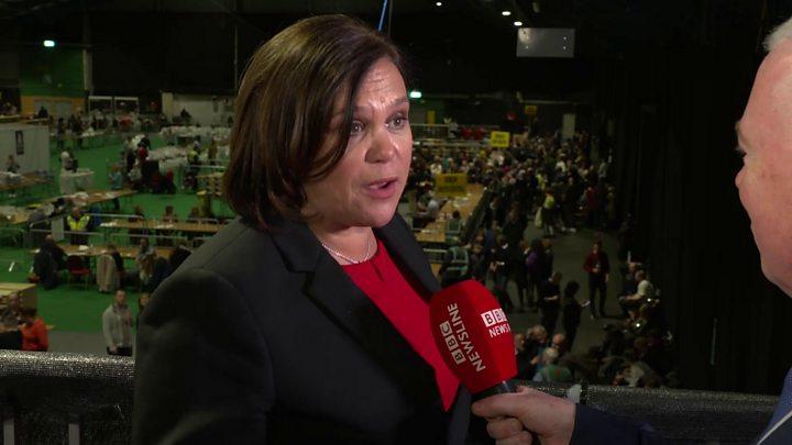 Sinn Fein urges European Union to back united Ireland bid after poll surge
