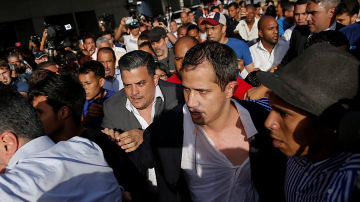 Venezuela holds uncle of opposition chief Juan Guaidó thumbnail