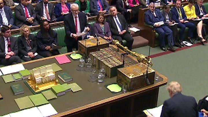 Jeremy Corbyn attack on Boris Johnson one day of Commons deportation row thumbnail