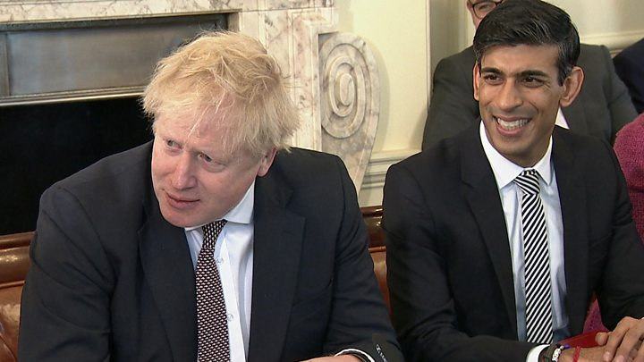 Cabinet reshuffle: Johnson tells ministers to focus on delivery after Javid exit