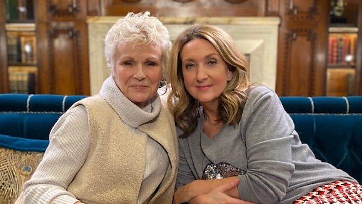 Dame Julie Walters reveals shock of bowel cancer diagnosis