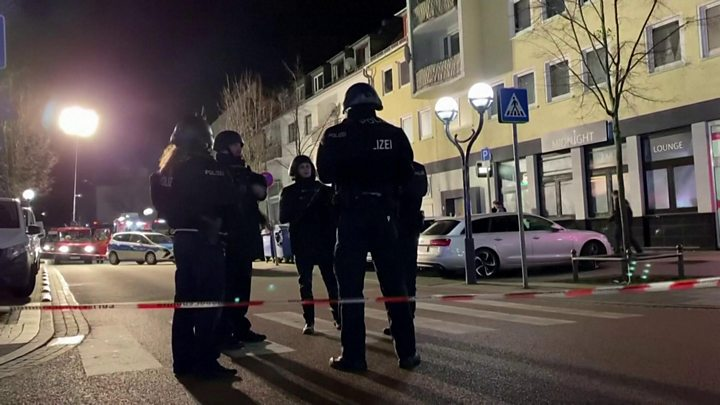 Eight dead in mass shooting in Germany