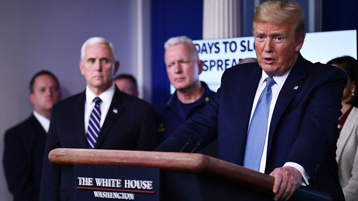 Coronavirus: Trump says coronavirus crisis may last all summer ...
