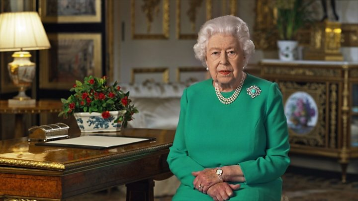 Coronavirus: 'We need Easter as much as ever,' says the Queen 1