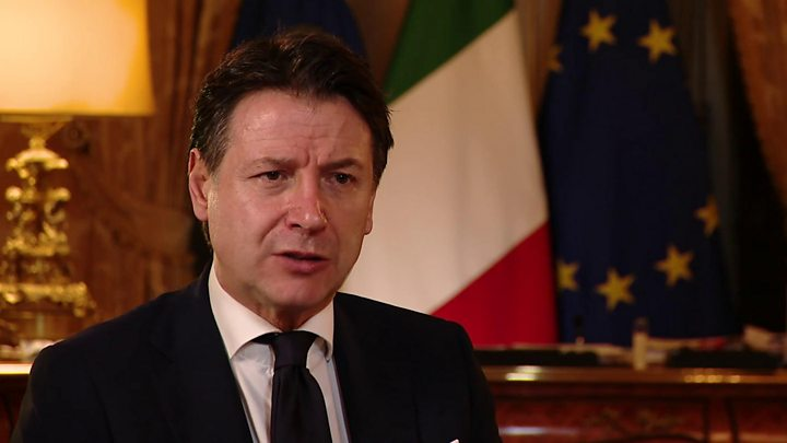 Italian PM: EU could fail over coronavirus pandemic