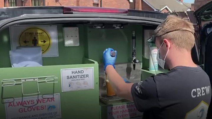 Coronavirus: Belfast bar allowed to deliver pints again 1