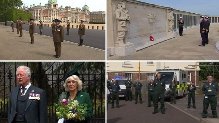 Queen tells Britain 'never give up' in tribute to WW2 generation