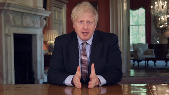 Boris Johnson speech: PM unveils 'conditional plan' to reopen society thumbnail