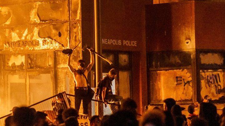 George Floyd protestoları: Minneapolis'ta gösteriler nasıl başladı ...