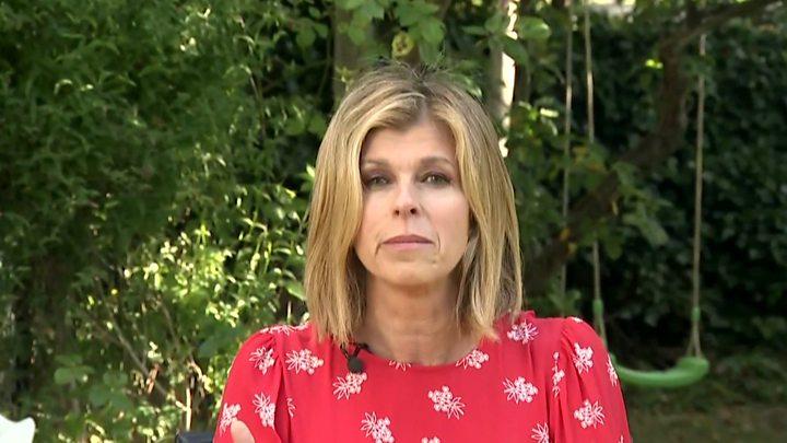 Coronavirus Kate Garraway Opens Up On Husband S Battle With Evil Virus Bbc News