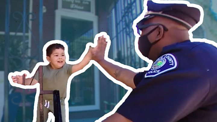George Floyd death: What US police officers think of protests 3