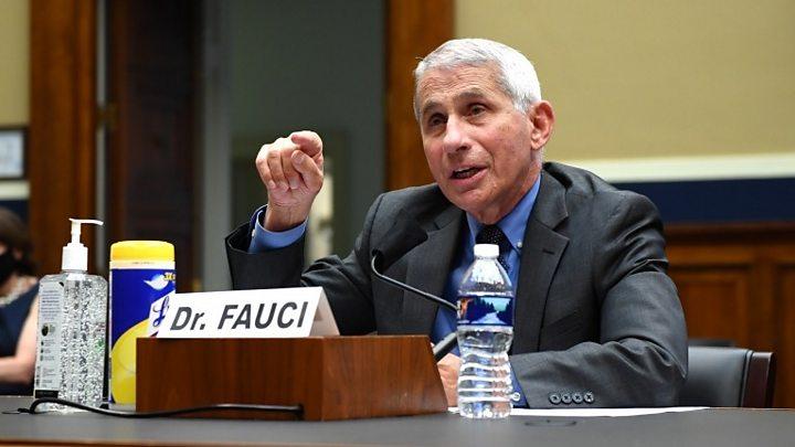 Coronavírus: EUA têm 'problema sério', diz Fauci 2