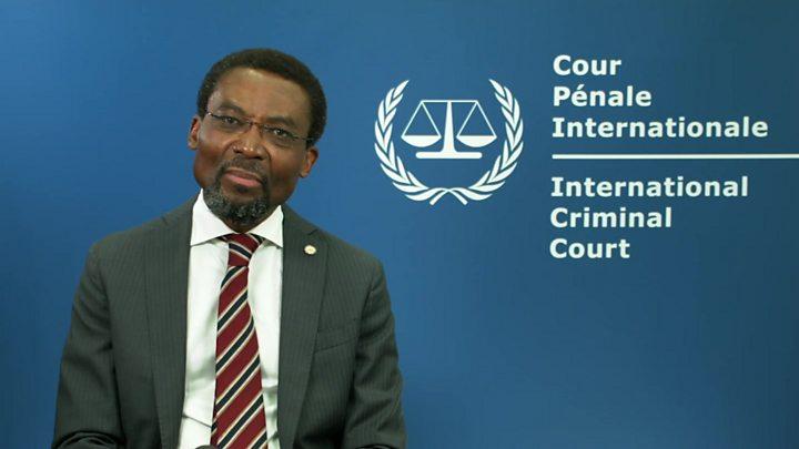 U.S. sanctions International Criminal Court officials