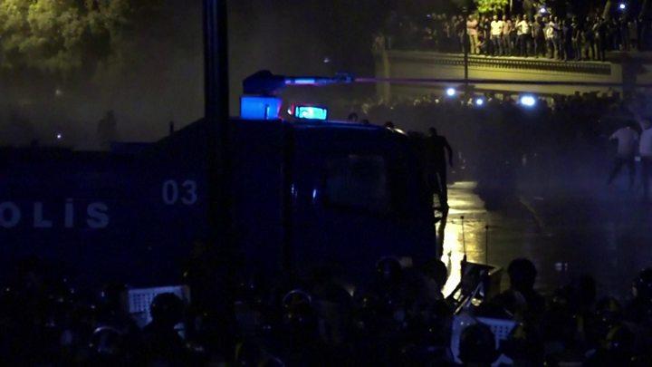 Azerbaijan protesters demand war after Armenia clashes