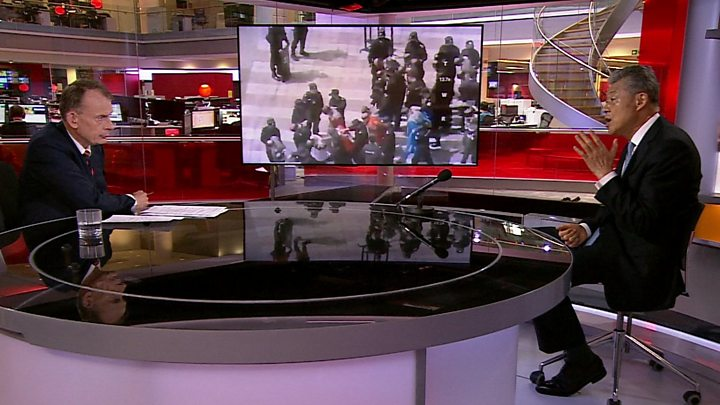 UK accuses China of 'gross' human rights abuses against Uighurs ...