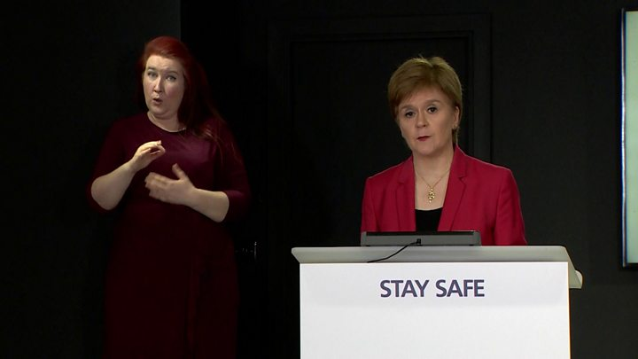 Aberdeen, Scotland's 3rd-largest city, put on lockdown